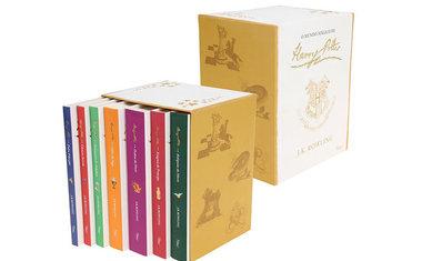 Livro - Box O mundo Mágico de Harry Potter - 7 livros (Capa Branca)