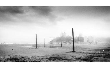 São Vicente - São Paulo - Amanhecer nublado