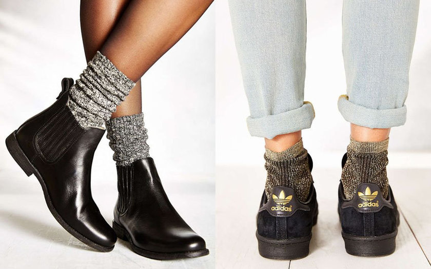 As meias estão com tudo!