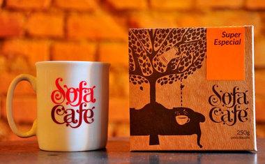 Sofá Café - Pinheiros