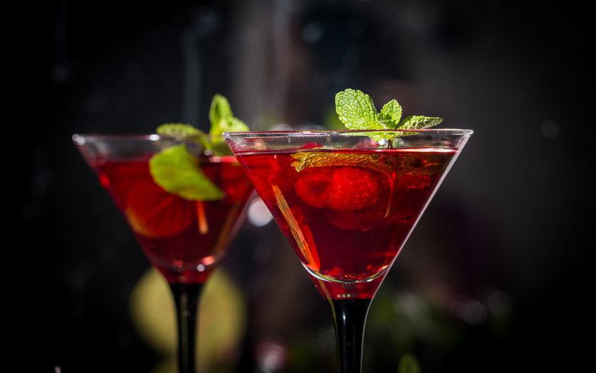 Dry Martini com pimenta