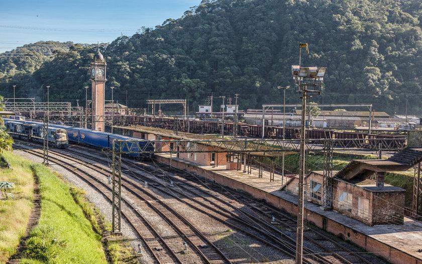 Passeio de trem por Paranapiacaba