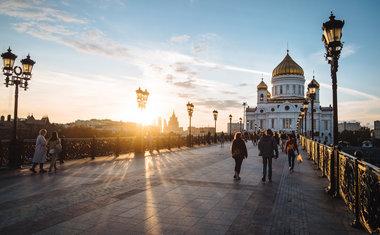 1) A Rússia é o maior país do mundo