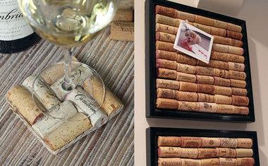 22 ideias de decoração com rolhas de vinho
