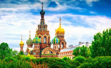 Catedral do Sangue Derramado em São Petersburgo