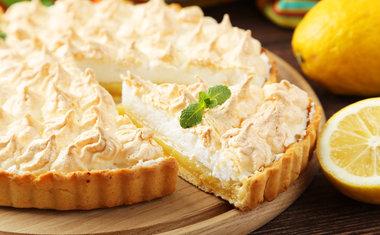 Torta de Limão e Iogurte