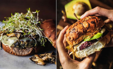 RAW Burger N Bar - Vegetariano