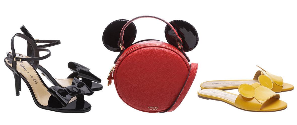 Fofo! Arezzo lança coleção em parceria com a Disney 07b2757ca6