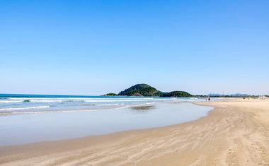 Praia de Itaguaré, Bertioga - SP