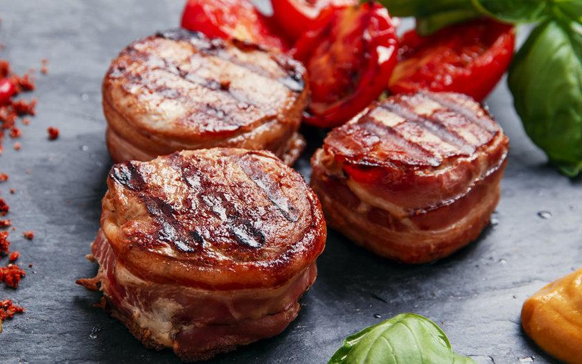 Medalhão de Mignon com Bacon