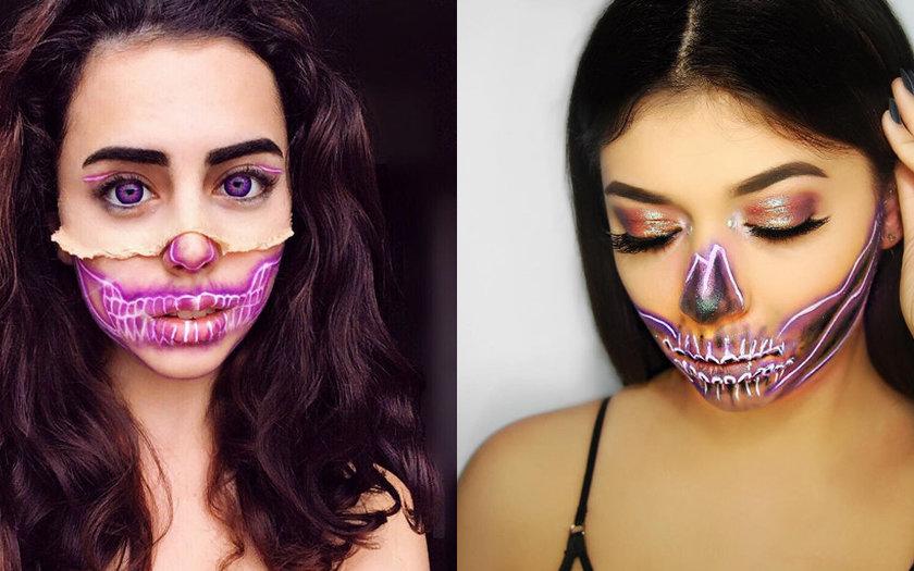 Maquiagem Neon para Halloween