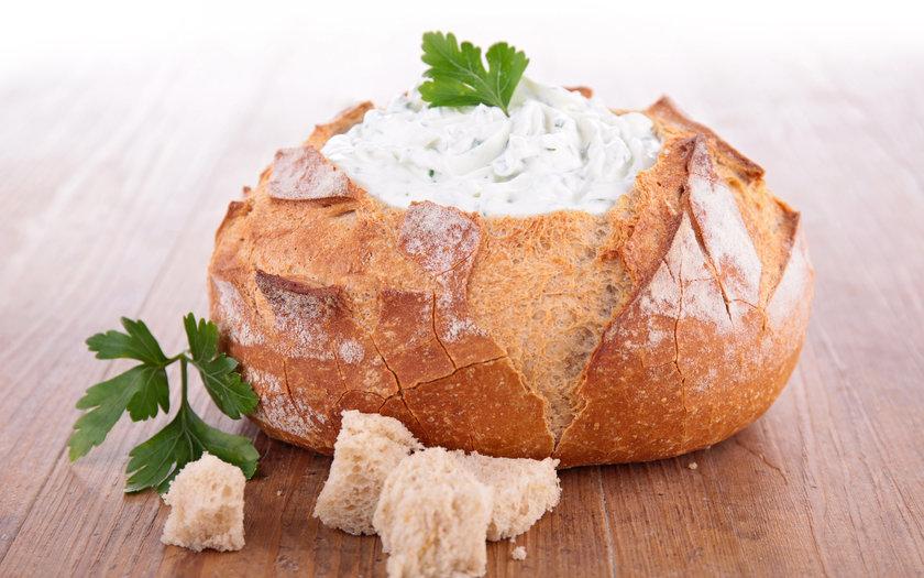 Pão Italiano com Cream Cheese Caseiro