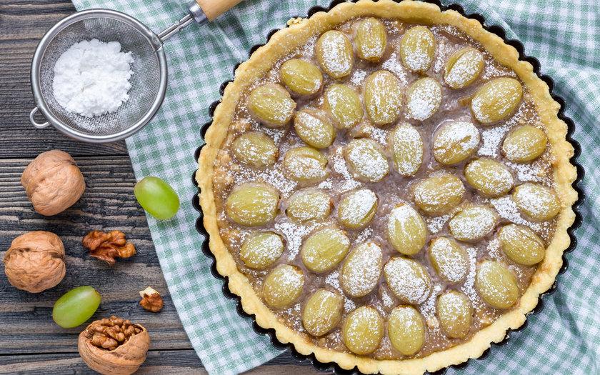 Torta Guirlanda de Uva