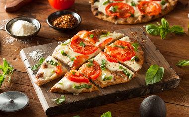 Pizza fácil de liquidificador