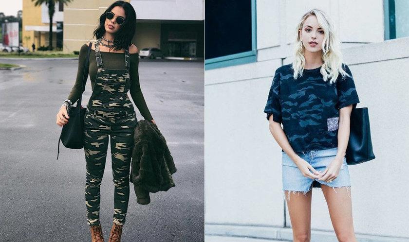 Moda militar: 8 inspirações para usar estampa camuflada no