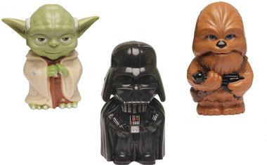 Que tal estes bonequinhos adoráveis de Star Wars que também são lanternas?