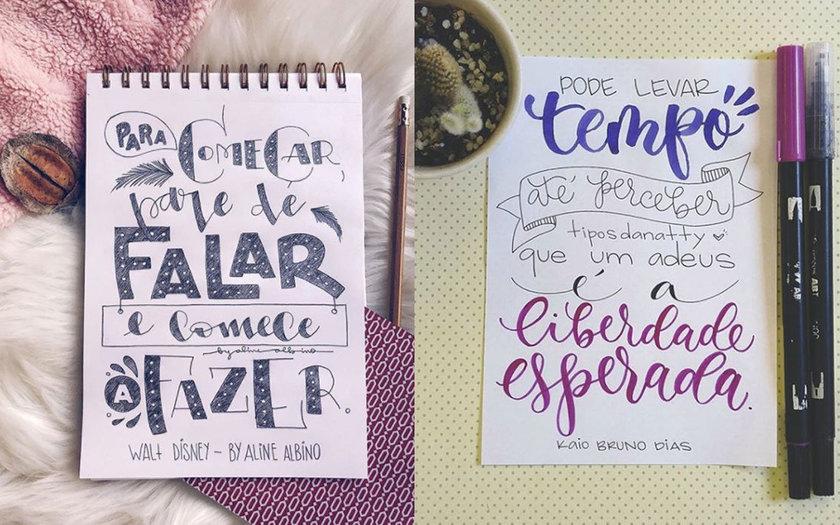 5 Dicas De Como Começar A Fazer Lettering
