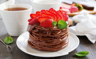 Panqueca de Nutella