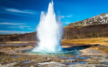 1) O Vale Geotermíco Haukadalur