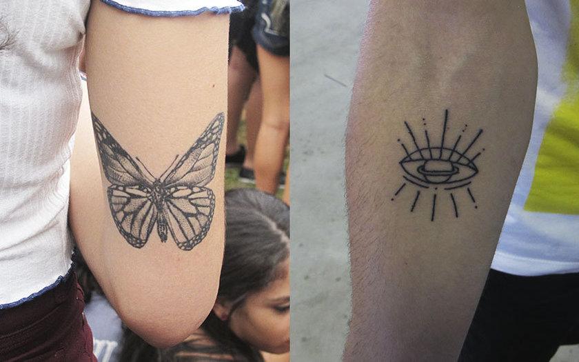 Tatuagens do Público do Lollapalooza Brasil 2018