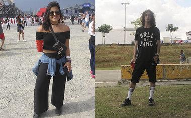 Looks do Lollapalooza Brasil 2018