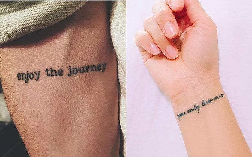 Veja Mais De 20 Ideias De Frases Para Tatuagens Que Vão Te