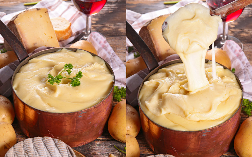 Aligot (Fondue de batata com queijo)