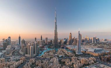 1. Burj Khalifa   Dubai, Emirados Árabes Unidos