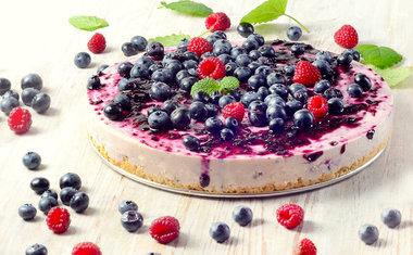 Cheesecake de mirtilos