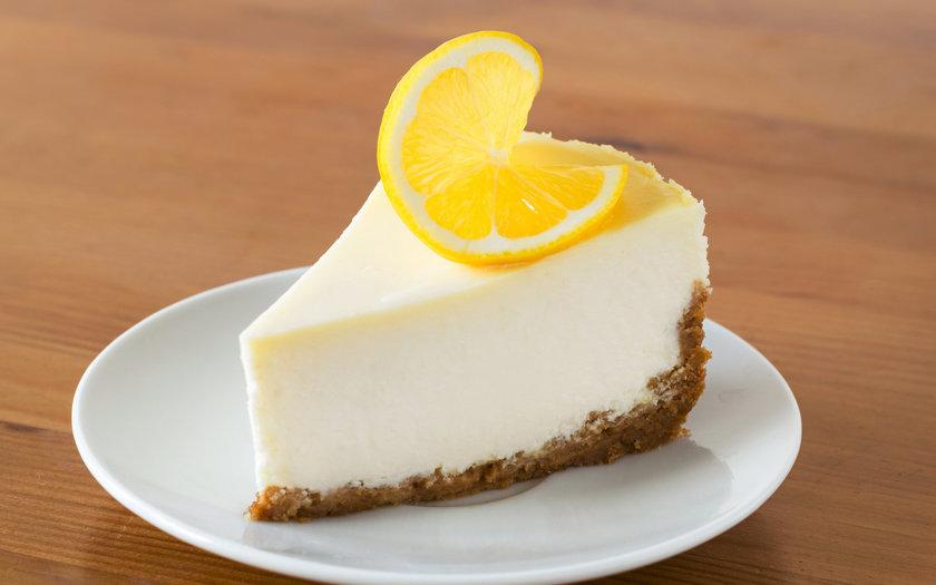 Cheesecake de limão com gengibre