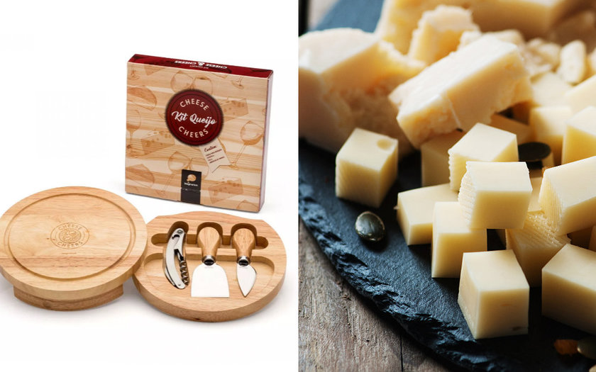 PAI GASTRONÔMICO: KIT CHEESE AND CHEERS