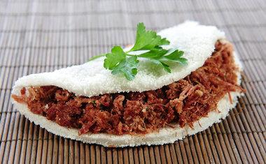 Tapioca de carne seca