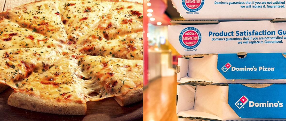 Promoção da Domino's tem pizza de muçarela por R$19,90