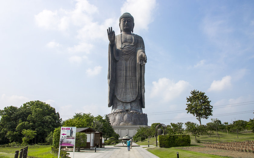 Ushiku Daibutsu | Japão