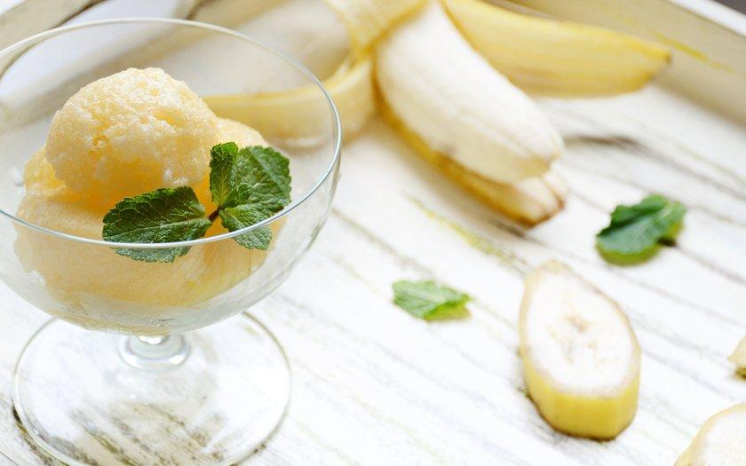 Sorbet de banana
