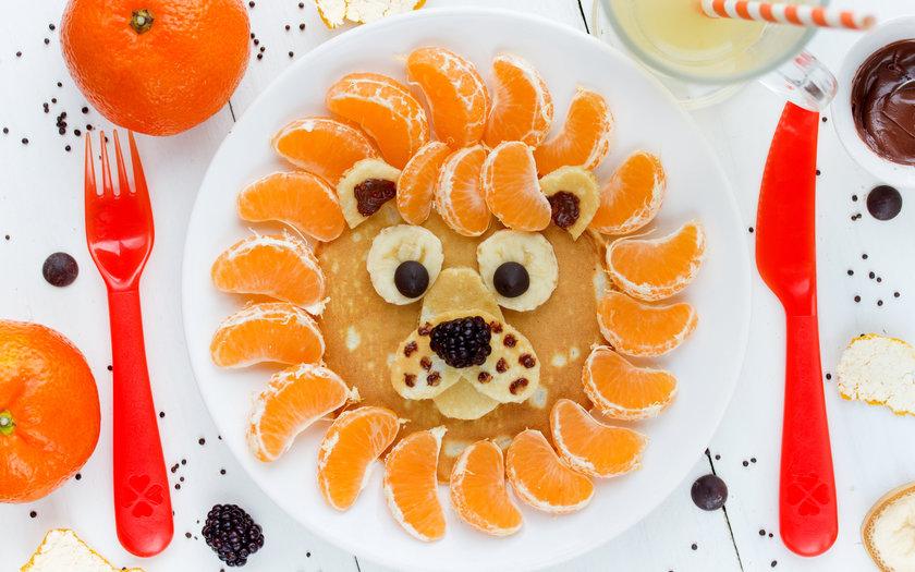 Panqueca de laranja