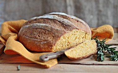 Pão de batata-doce