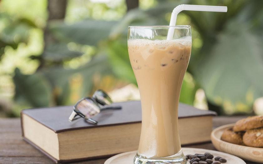Café gelado com leite condensado