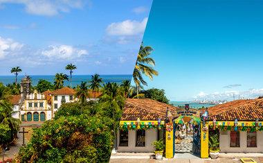 Conheça Olinda, cidade histórica de Pernambuco banhada por um mar verde e cristalino