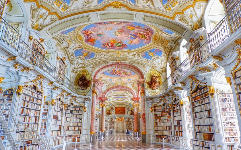 Biblioteca do Monastério de Admont | Admont, Áustria