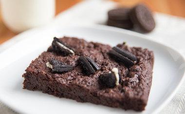 Brownie de Oreo