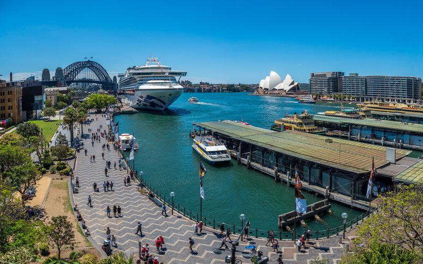Opera House, Harbour Bridge e Sydney Harbour