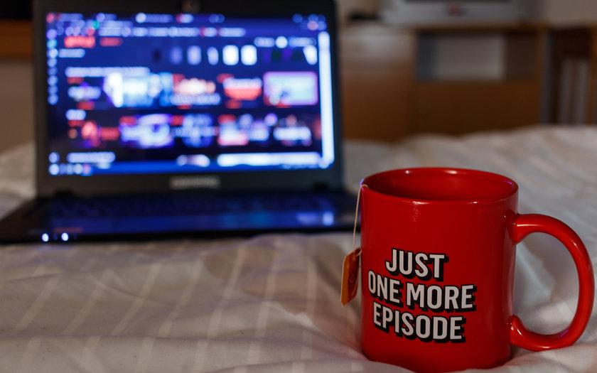 Faça uma maratona de séries