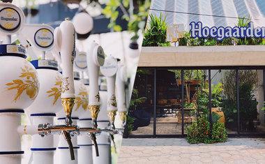 Cerveja Hoegaarden abre bar próprio no Largo da Batata, em Pinheiros
