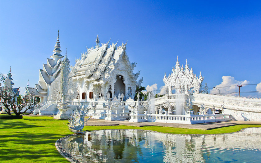 Wat Rong Khun | Chiang Rai, Tailândia