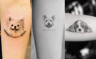 Pet Lovers 20 Tatuagens Para Quem E Louco Por Cachorro
