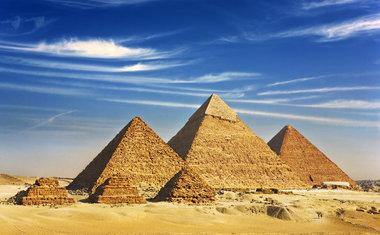 As Pirâmides de Gizé | Egito