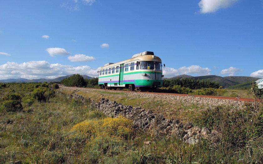 Trenino Verde della Sardegna   Sardenha