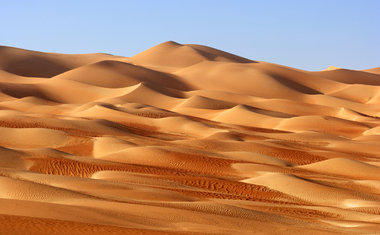 Rub' al Khali | Emirados Árabes, Omã, Arábia Saudita e Iêmen