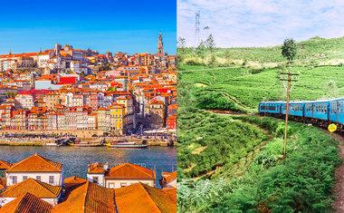 4 roteiros imperdíveis para fazer de trem em Portugal